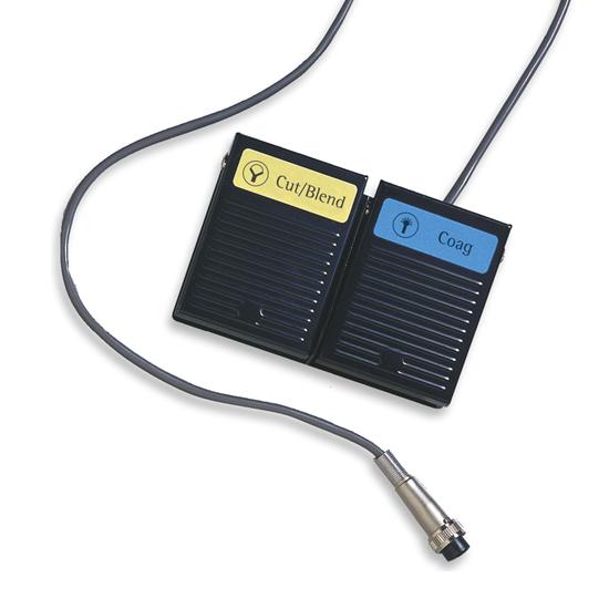 Elektrokirurgiskt fotreglage - ESU-170